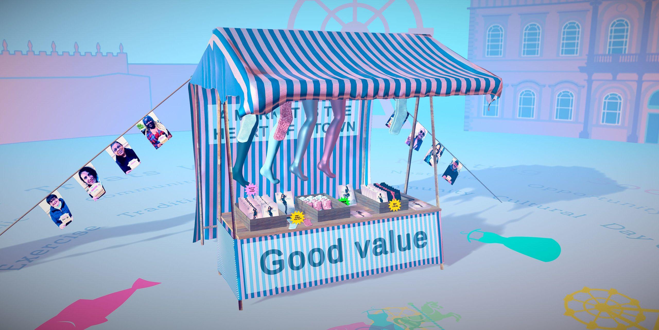 Market 800 Digital Installation